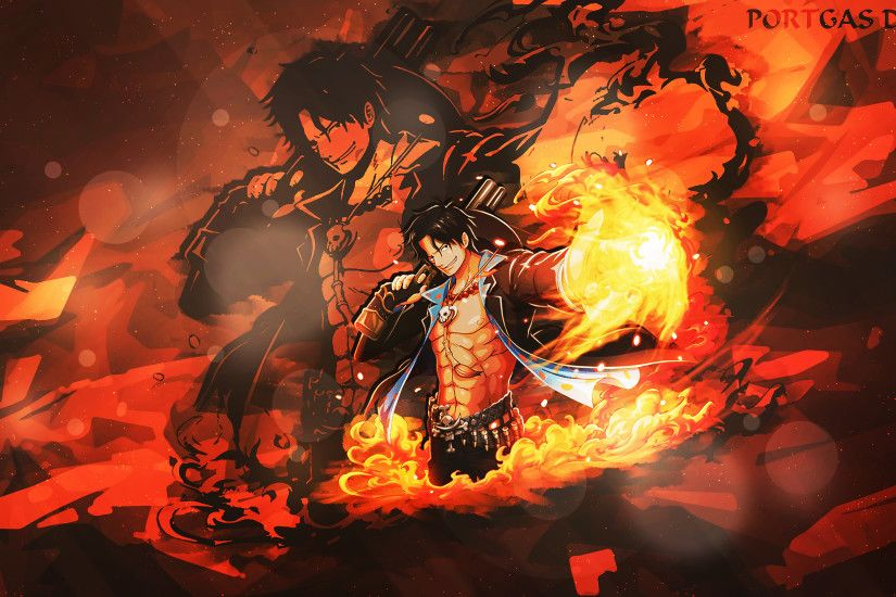 Anime - One Piece Portgas D. Ace Wallpaper