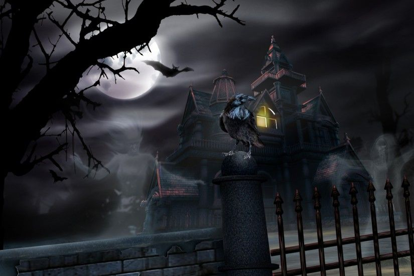 Haunted Halloween House - Other Wallpaper ID 805988 - Desktop Nexus Nature