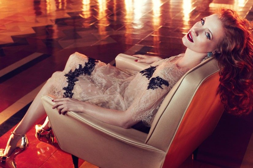 Jessica Chastain Vogue Italia