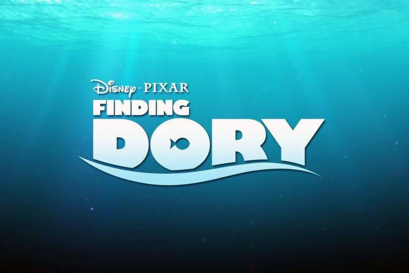 Finding Dory Logo Wallpaper