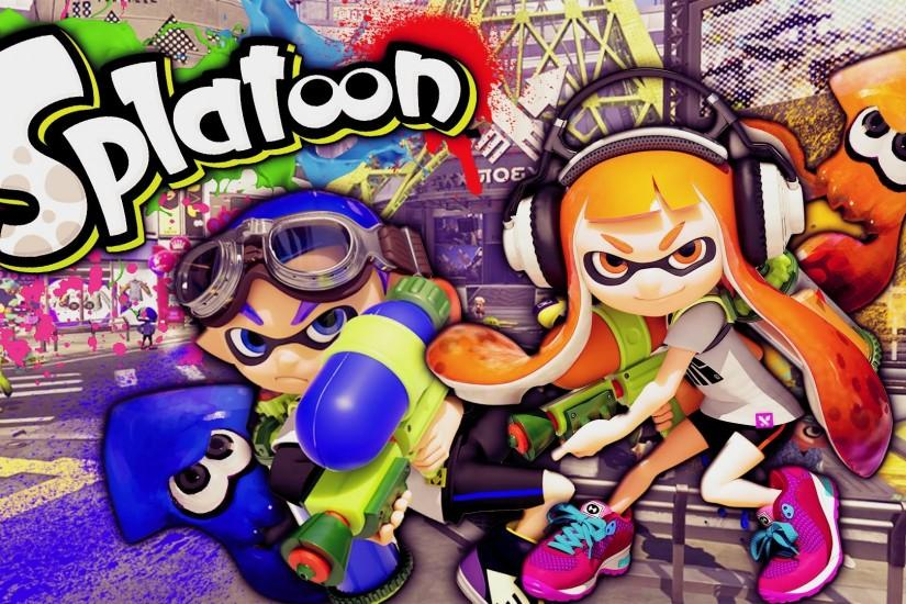 best splatoon wallpaper 1920x1080 hd