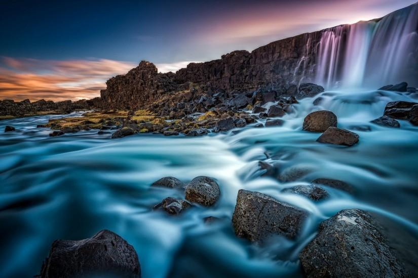 Iceland Waterfall Wallpaper
