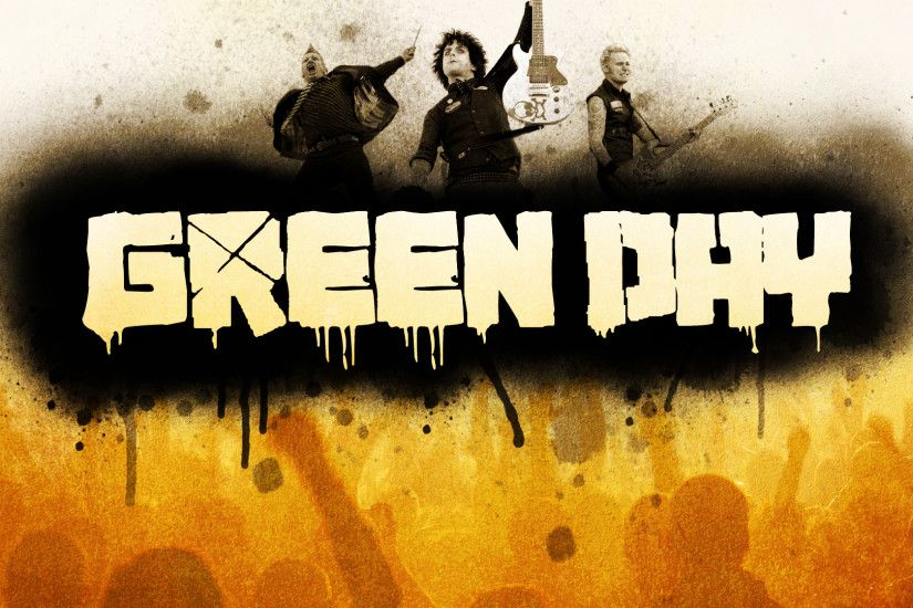 Green Day Full HD Background…