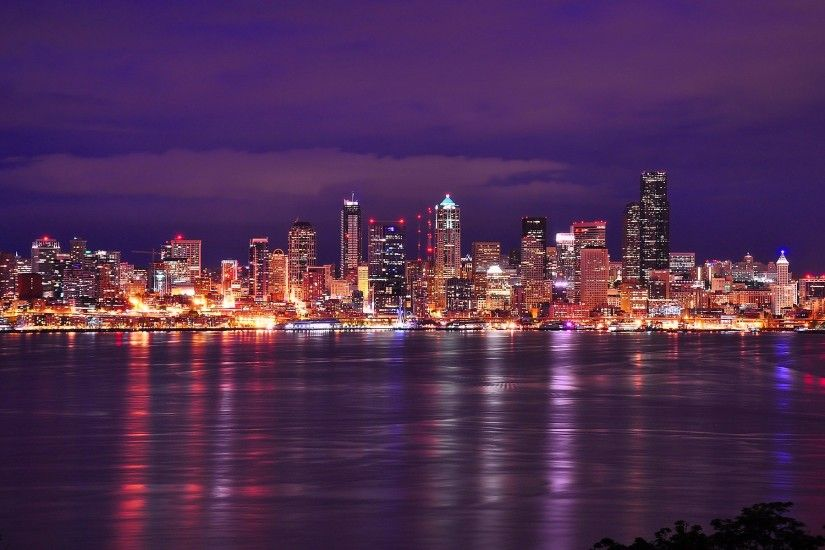 Seattle Skyline. Seattle Skyline Wallpaper