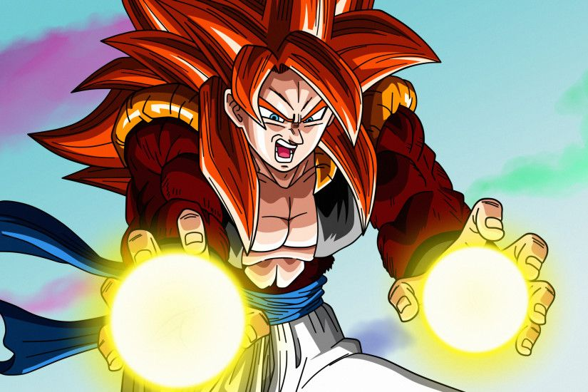 ... Poster #1: Gogeta Super Saiyan 4 by Dark-Crawler