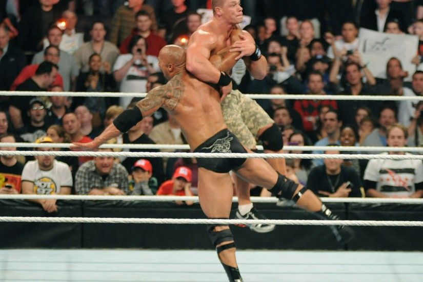 WWE Wallpapers. Previous Wallpaper · Rock and John Cena WWE Fight HD  Wallpapers