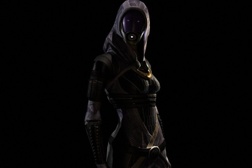 Wallpaper Mass effect, Tali zorah, Shadow, Light, Hood