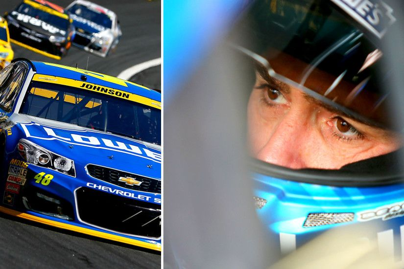 Jimmie Johnson breaks out, wins at Charlotte as Chase cars crumble | NASCAR  | Sporting News