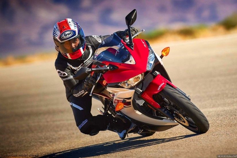 Yamaha YZF R3 Red Sport Bike HD Wallpapers
