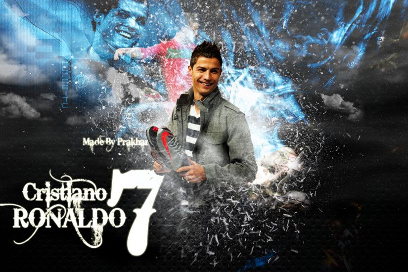Cristiano Ronaldo Real Madrid Wallpaper Free Download.