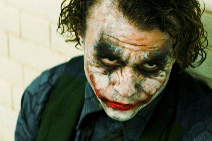 Pix For > The Joker Heath Ledger Wallpaper