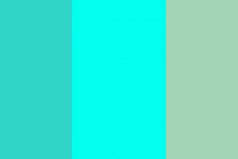 Turquoise Blue Green Color Wallpaper