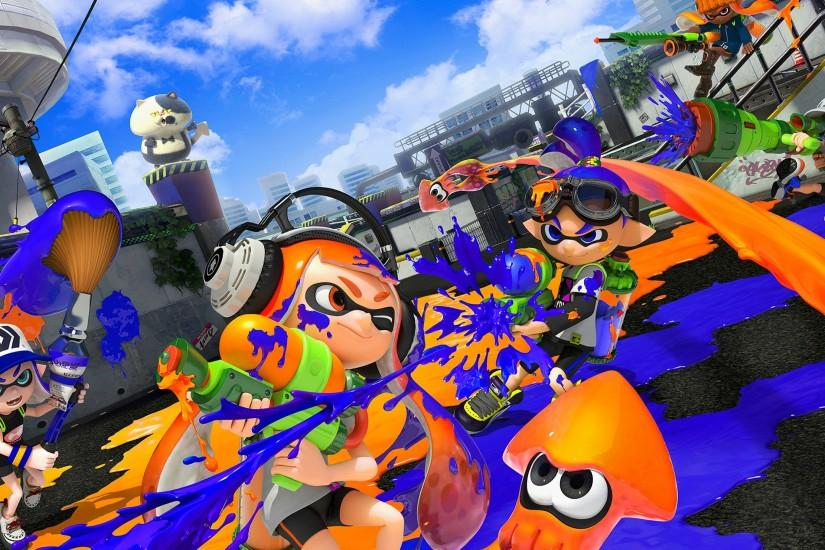 splatoon wallpaper 2560x1440 cell phone