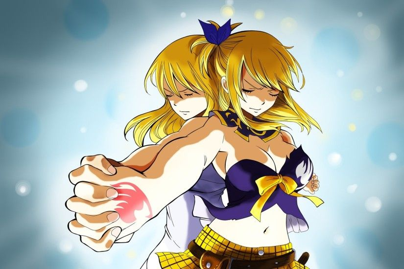 Fairy Tail Lucy And Gemini