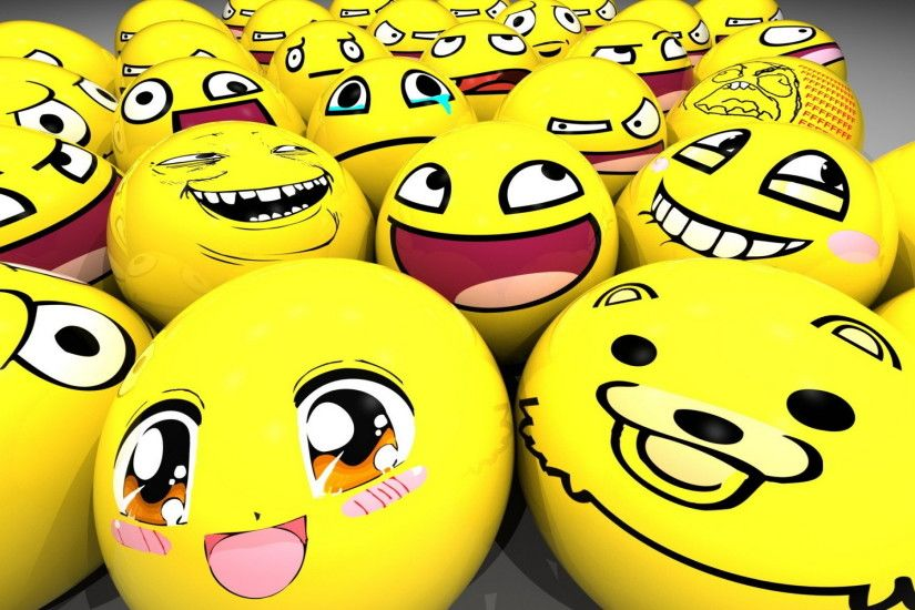 Cute Smiley Face HD Wallpaper