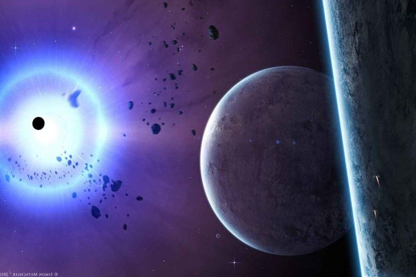 Space Science Planets Outer Rocks Sci Shining Stars Fiction HD Nature Pic  For PC