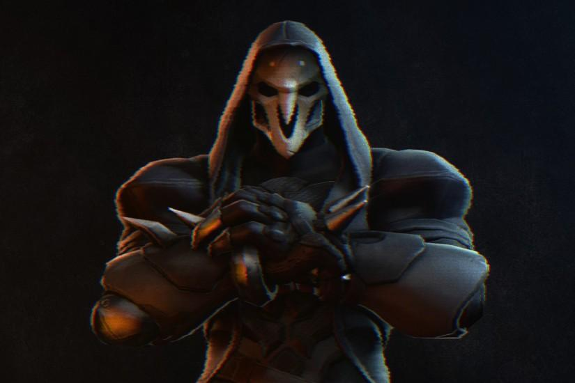 overwatch reaper wallpaper 3840x2160 for pc