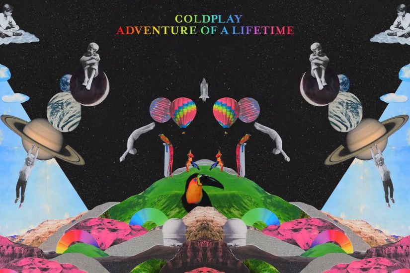 Coldplay - Wallpaper - Adventure Of A Lifetime