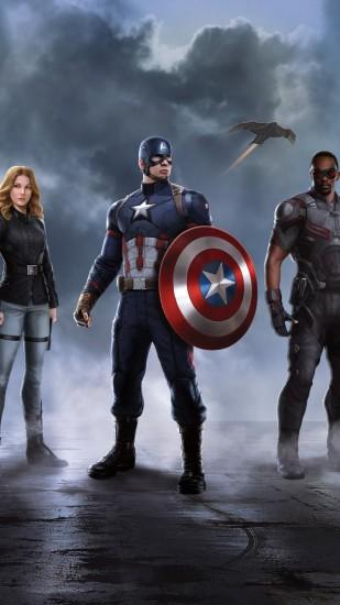 best captain america civil war wallpaper 1080x1920 download