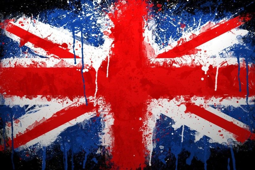 Graffiti Union Jack HD Wallpaper