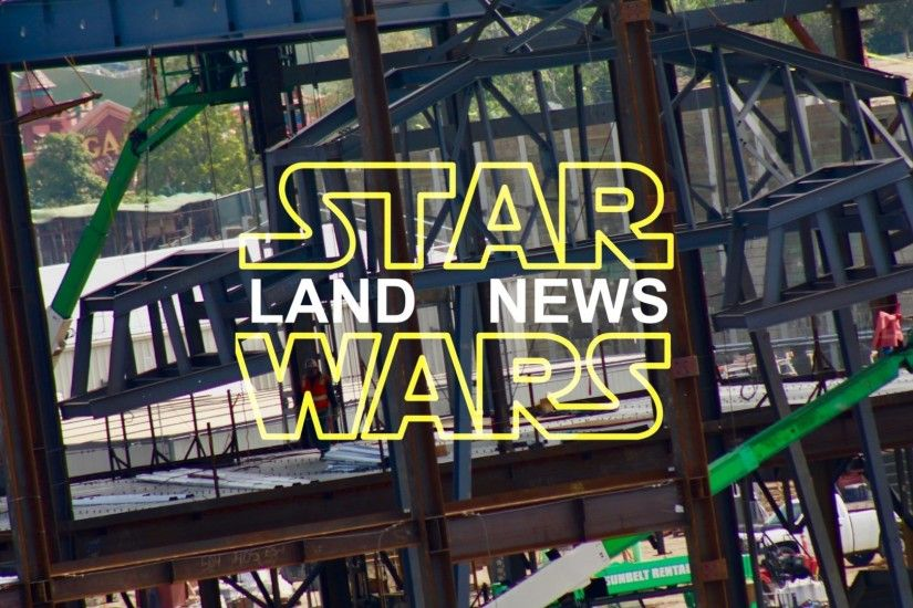 Star Wars Land News: Walkers In The House!