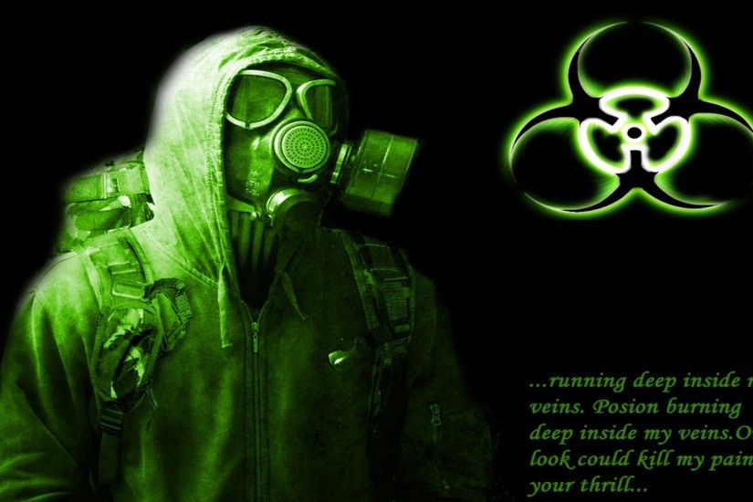 ... Gas Masks 413438 - WallDevil Cool Gas Mask Wallpapers ...