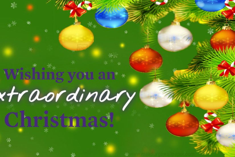 Christmas decorations wallpaper