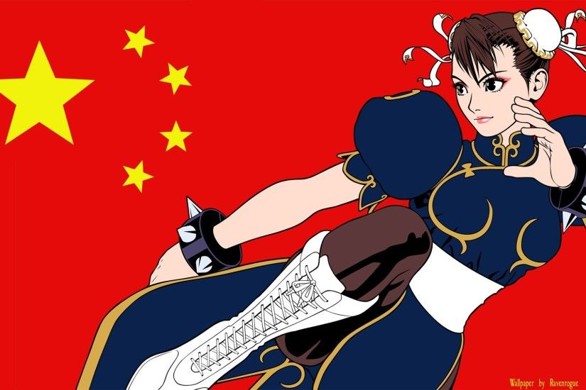 Street Fighter, Chun Li, China, Flag Wallpapers HD / Desktop and Mobile  Backgrounds