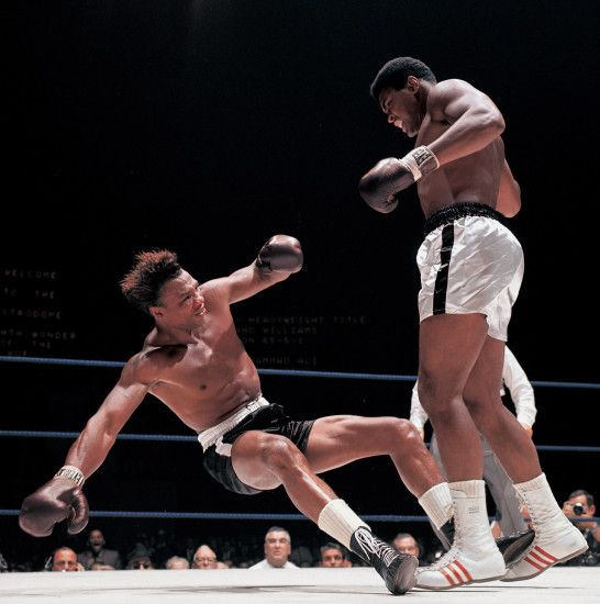 Inspiring Photography of Muhammad Ali by Neil Leifer