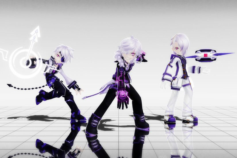 PouncingPandae 82 34 Elsword: Add First Job Wallpaper by DiabolicTurkey