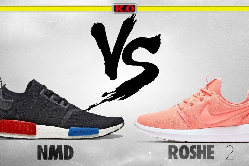 Adidas NMD vs Nike Roshe 2! Whats More Comfy? - YouTube