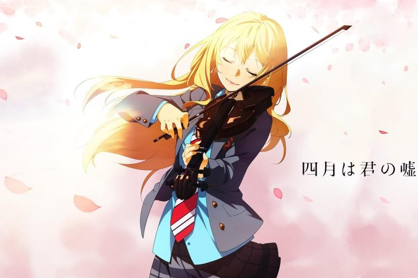 shigatsu wa kimi no uso wallpaper - Google Search