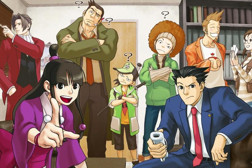 Phoenix Wright: Ace Attorney wallpaper