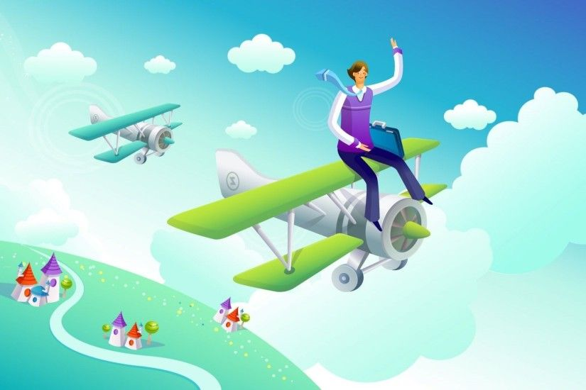 airplane 3d animation free download