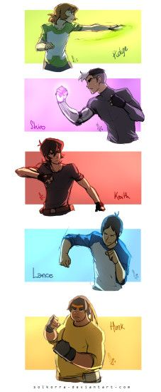 Voltron Paladins Training by SolKorra on DeviantArt