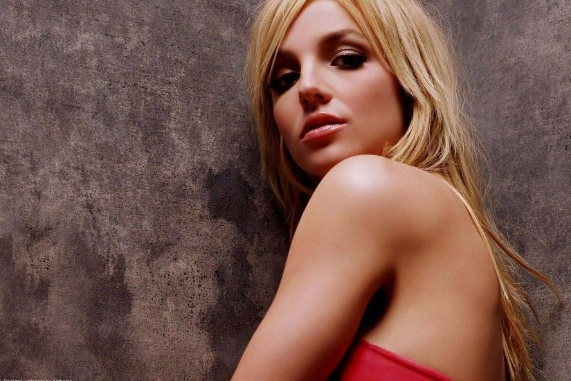 Wallpaper Britney spears, Shoulder, Blonde, Face, Wall