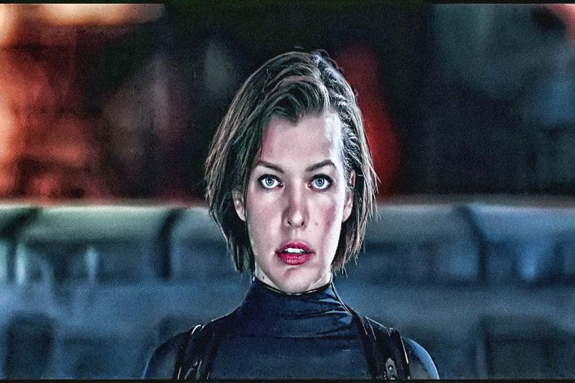 2560x1600 Wallpapers Resident Evil: The Final Chapter Milla Jovovich Girls  Motorcycles Movies Celebrities 2560x1600