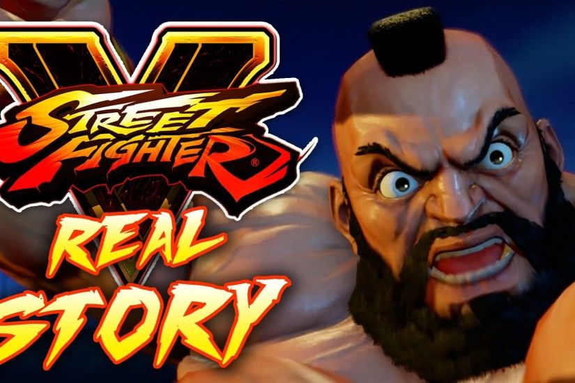 ZANGIEF IS THE CHIEF IN THESE LARIAT STREETS! - [Street Fighter 5 REAL  STORY#7]