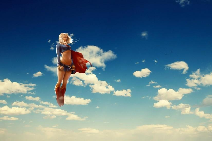 Wallpaper funny superwoman