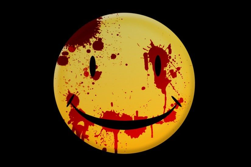 <b>Smiley</b> Face Dark Horror Mood <b>Blood
