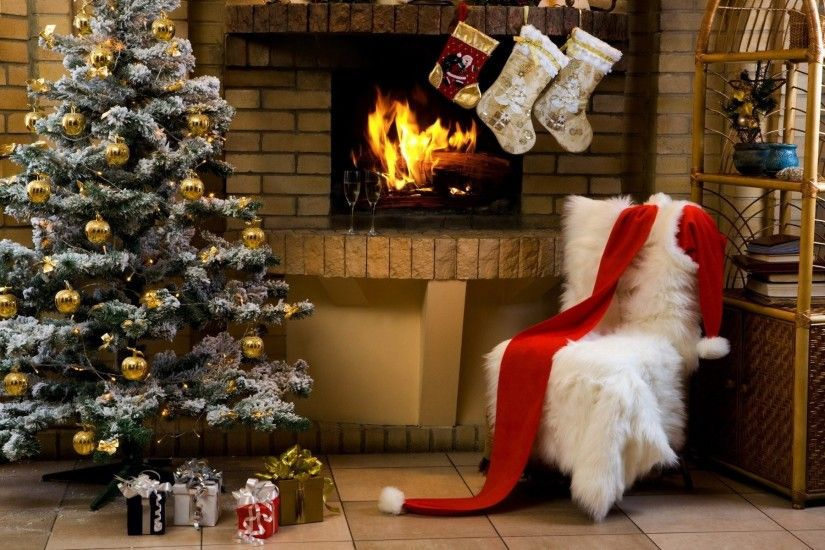 Christmas Fireplace 729780 ...
