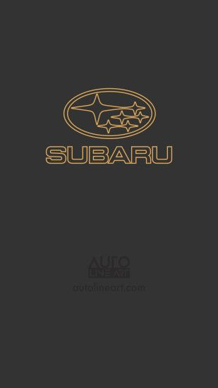 1440x2560 - Subaru logo mobile wallpaper from autolineart.com