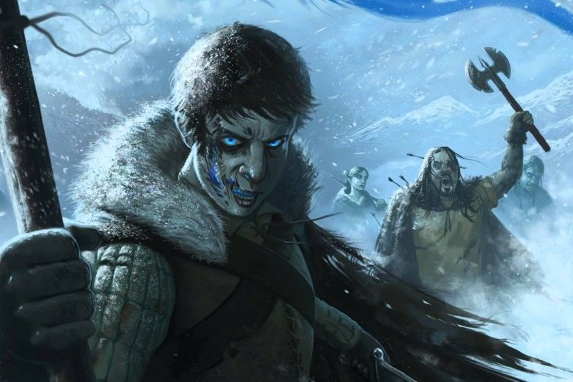 Game Of Thrones Song Of Ice And Fire Drawing White Walkers Zombies Snow  Wintergame Of Thrones Song Of Ice And Fire Drawing White Walkers Zombies  Snow Winter ...
