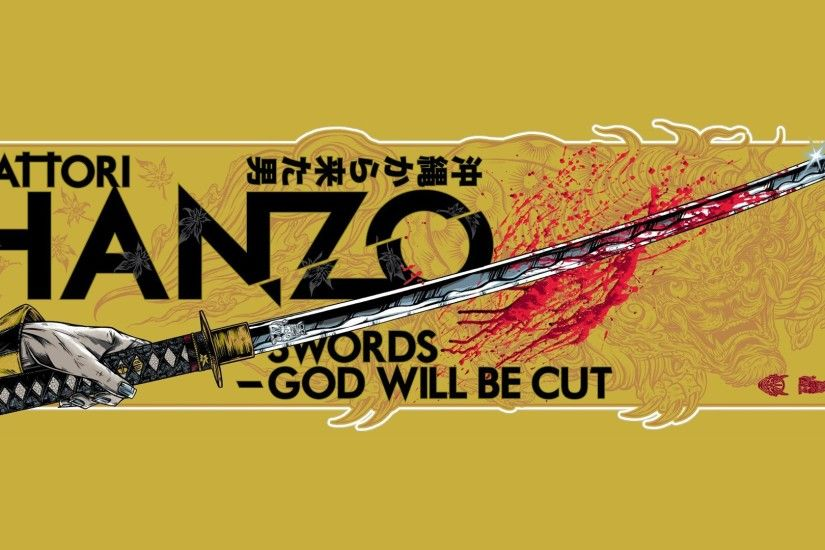 Movies Kill Bill Quentin Tarantino swords fan art Hattori Hanzo wallpaper |  1920x1080 | 183811 | WallpaperUP
