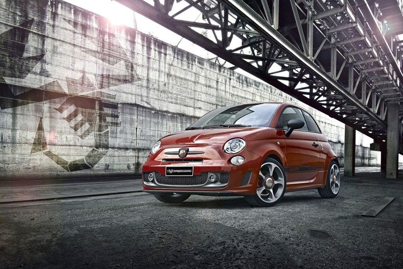 2014 Fiat Abarth 595 V1 Hd Car Wallpaper