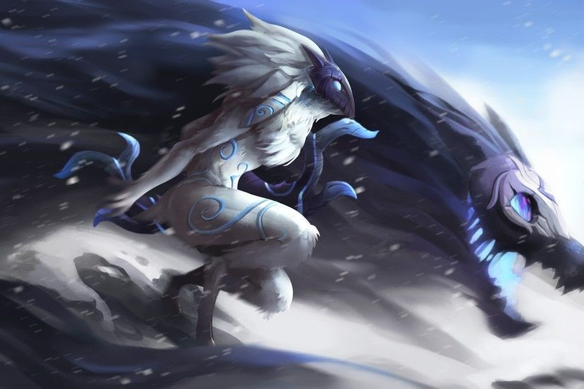 League Of Legends, Kindred Wallpapers HD / Desktop and Mobile Backgrounds
