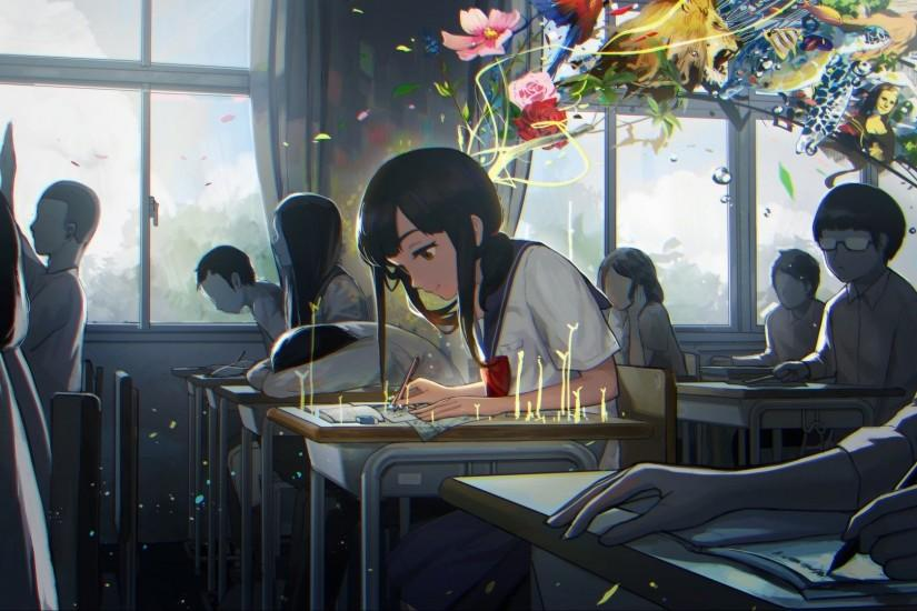 Anime School Background 183 ① Download Free Cool Backgrounds