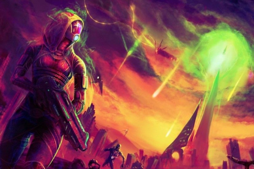 Video Game - Mass Effect Tali'Zorah Wallpaper