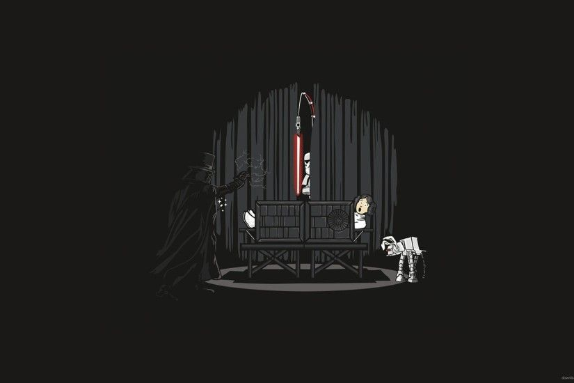 Darth Vader Shows Magic Tricks for 2560x1440