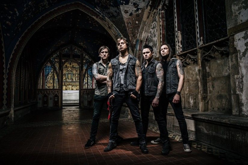 bullet for my valentine metalcore melodic music matthew tuck michael paget  jason james michael thomas